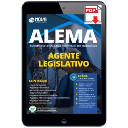 Apostila Digital Assembleia Legislativa do Maranhão 2020 - Agente...