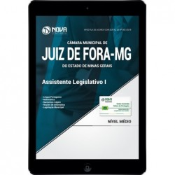 Apostila Digital Juiz de Fora MG 2018 - Assistente Legislativo I