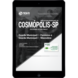 Apostila Digital Cosmópolis SP 2018 - Guarda Municipal I