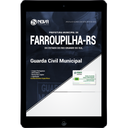 Apostila Digital Farroupilha RS 2018 - Guarda Civil Municipal