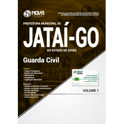 Apostila Concurso Jataí GO 2018 - Guarda Civil