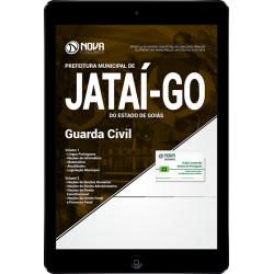 Apostila Digital Concurso Jataí GO 2018 - Guarda Civil