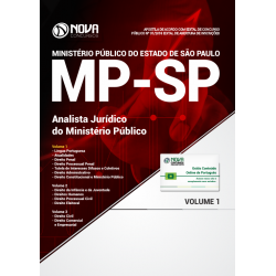 Apostila Concurso MP SP 2018 - Analista Jurídico do MP