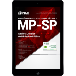 Apostila PDF MP SP 2018 - Analista Jurídico do MP