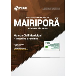 Apostila Concurso Mairiporã SP 2018 - Guarda Civil Municipal
