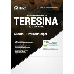 Apostila Concurso Teresina 2019 - Guarda Civil Municipal