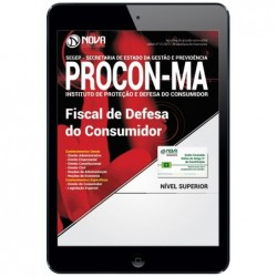 Apostila Digital PROCON MA 2018 - Fiscal de Defesa do Consumidor