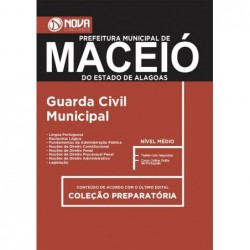 Apostila Concurso Maceió AL 2018 - Guarda Civil Municipal