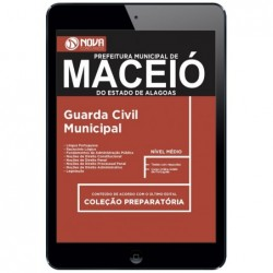 Apostila PDF Concurso Maceió AL 2018 - Guarda Civil Municipal