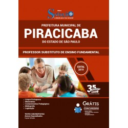 Apostila Concurso Piracicaba SP 2020 - Professor Ensino Fundamental