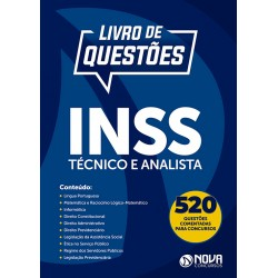 Livro de Questões Comentadas INSS - Técnico e Analista