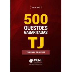Livro de Testes em PDF Concurso TJ - 500 Questões Gabaritadas