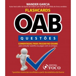 Flashcards OAB - Questões Comentadas para Passar na OAB - 1ª Ed - 2020