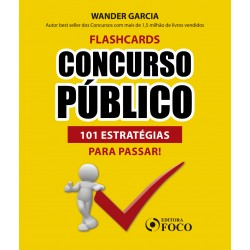 Flashcards Concurso Público: 101 Estratégias para Passar - 1ª Ed -...