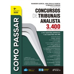 Como Passar em Concursos de Tribunais - Analista - 9ª Ed - 2020