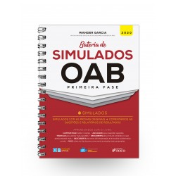 Bateria de Simulados OAB 1ª Fase - 1ª Ed 2020